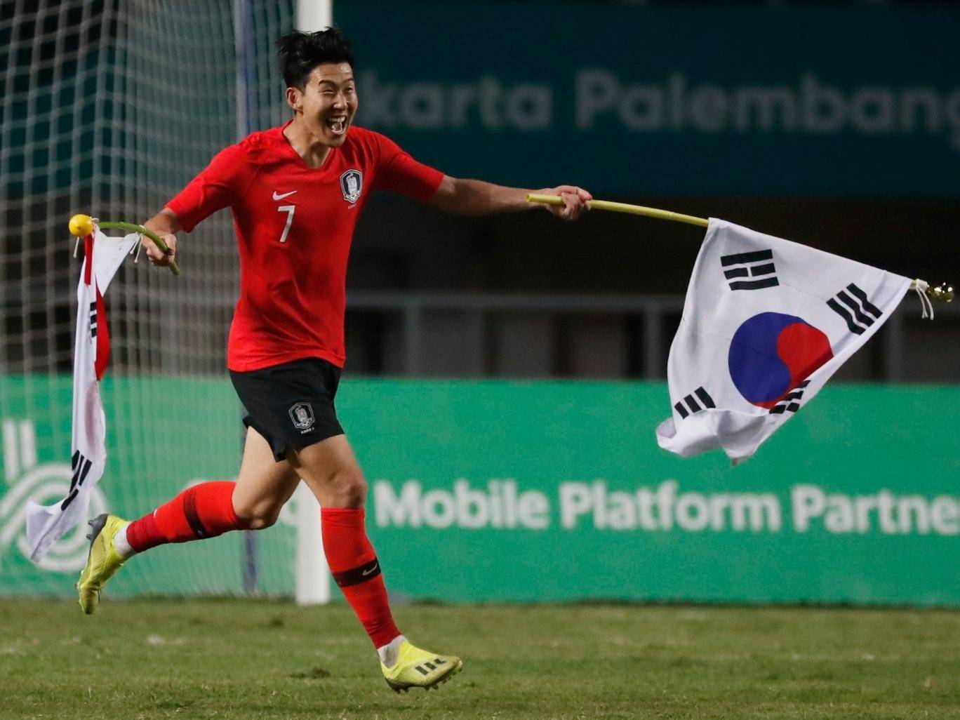 This Korean Soccer Player May Have Been The Happiest Man