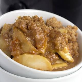 Slow Cooker Apple Peanut Butter Crisp.
