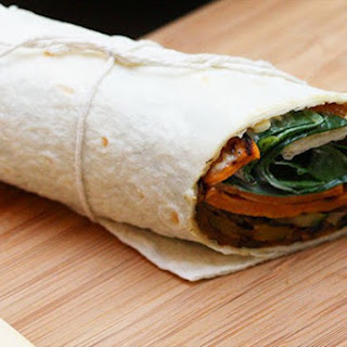 Chargrilled Vegetable Wraps