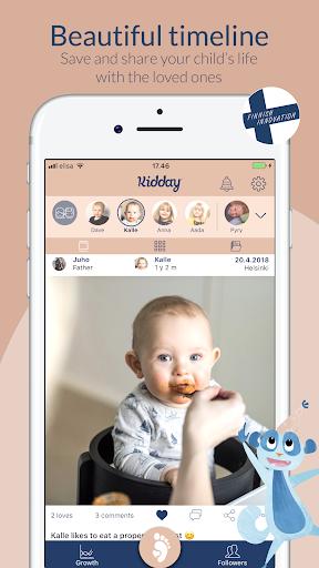 Kidday u2013 mobile baby book Apk 1