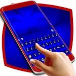 Royal Blue Keyboard Icon