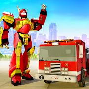 إنسان آلي نار مقاتل إنقاذ شاحنة نقل APK
