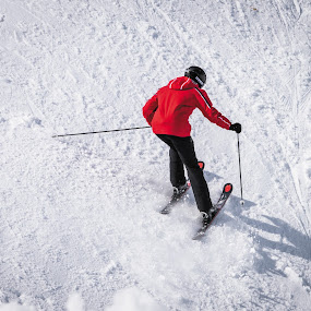 Somwhere in the Alps by Nistorescu Alexandru - Sports & Fitness Snow Sports ( #sport, #swiss, #snow, #alps, #ski,  )