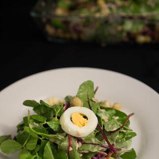 Chickpeas and Tuna Salad.