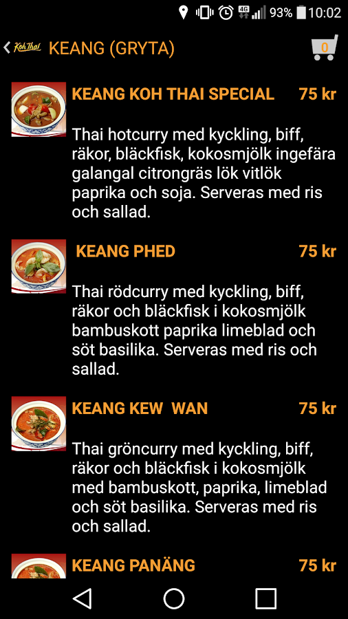 Koh Thai- screenshot