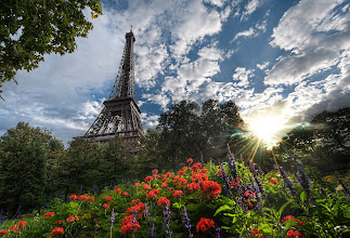 Photo: Another Summer Day in Paris  This shot looks much more delicate, perhaps, than I did while achieving it. Unfortunately, this was one of those tricky ones where the tripod legs were splayed out like a flattened armadillo. I looked beyond redonkulous while taking it...  from Trey Ratcliff at www.stuckincustoms.com