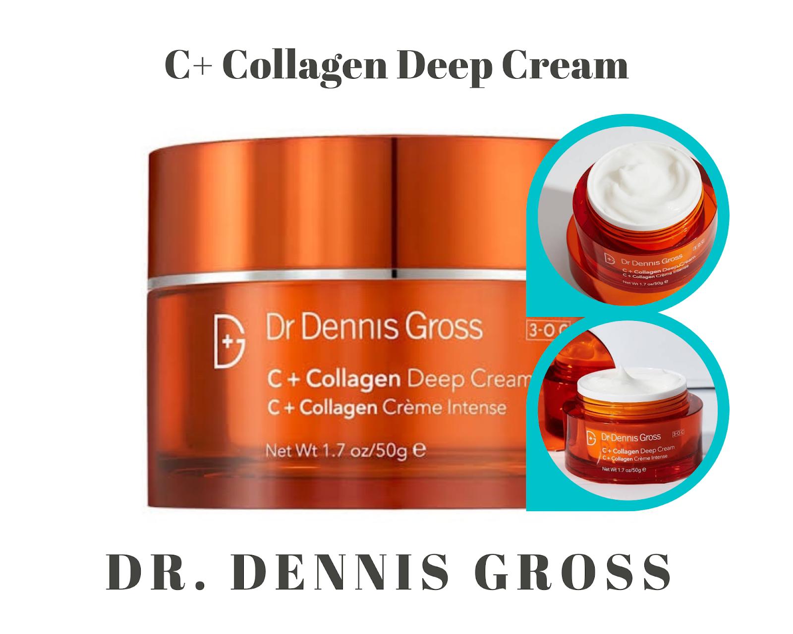 7. Dr. Dennis Gross C+ Collagen Deep Cream