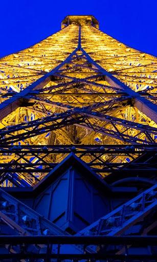 Eiffel Tower at Night LWP