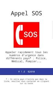 SOS Call - náhled