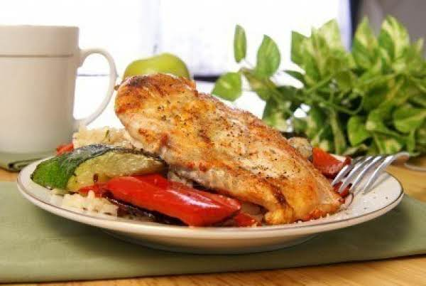 Greek Style Broiled Chicken Breasts