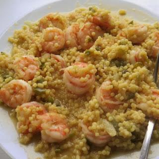 Shrimp Acini de Pepe.