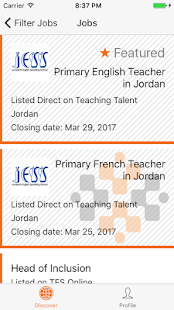 Teaching Talent - Search Jobs- screenshot thumbnail