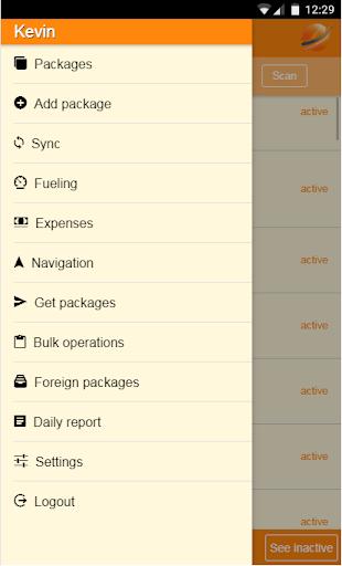 courier manager screenshot 2