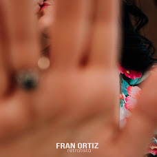 Wedding photographer Fran Ortiz (franortiz). Photo of 07.07.2018