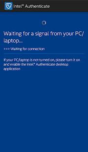 Intel® Authenticate screenshot