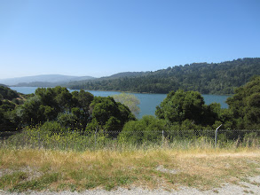 Photo: San Andreas Reservoir from the trail