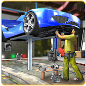 Flying Car Mechanic Workshop