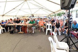 Photo: Judges and audience for Mixed Grill