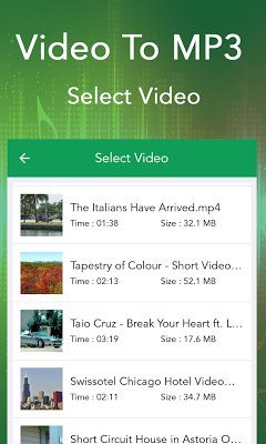 Video to MP3 - screenshot
