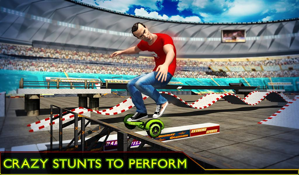 Hoverboard Stunts Hero 2016- screenshot
