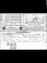 Photo: Grace Katherine Martin Tillery war-time ration book -early 1940s