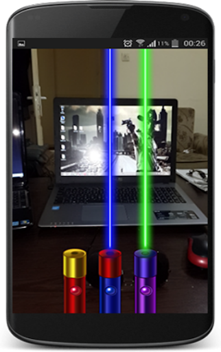 無料娱乐Appのレーザー - 懐中電灯 - カメラ|記事Game