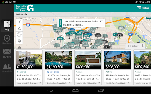 David Griffin & Co. Realtors- screenshot thumbnail