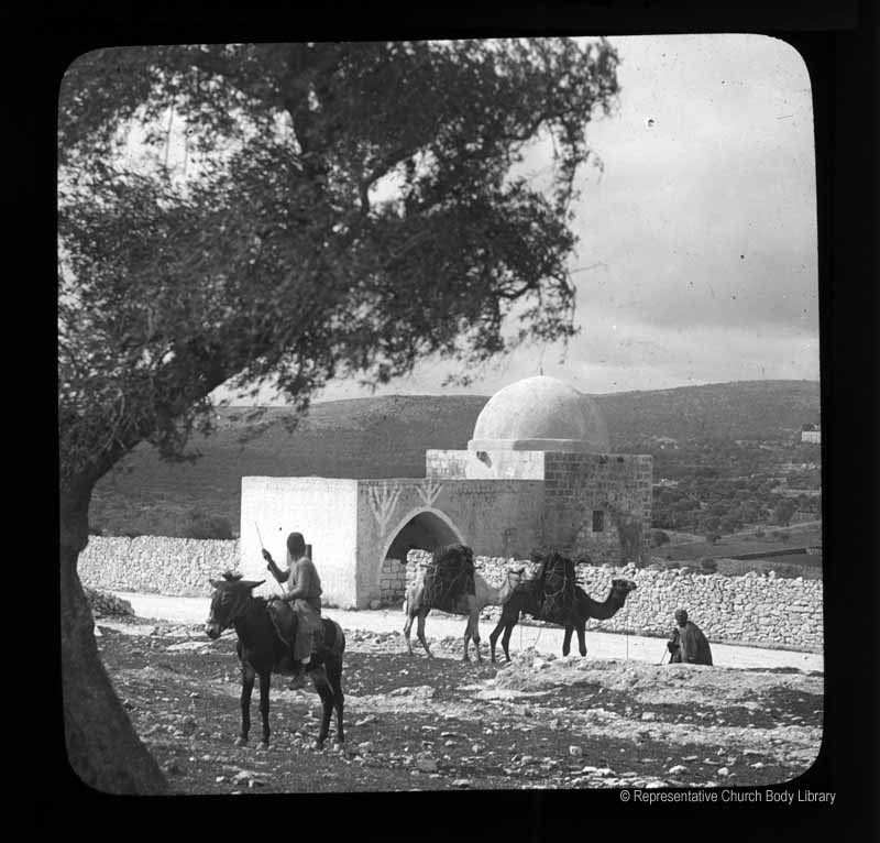 Photo: 'Rachel's Tomb' [on the outskirts of the town nearer Jerusalem]