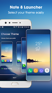 Note 8 Launcher Galaxy - náhled