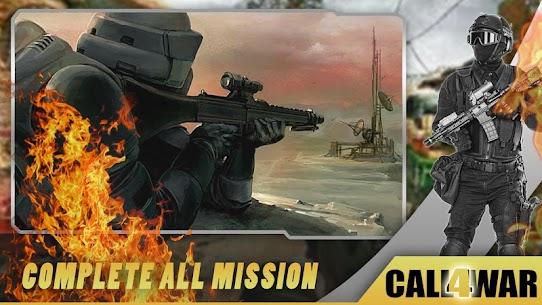 Call of Free WW Sniper Fire Duty For War MOD | DUMB ENEMY | GOD MODE | NO ADS 5