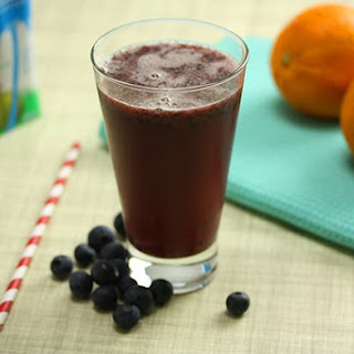 Coconut Water & Blueberry Cooler