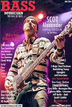 Photo: Scot Alexander: Bass Musician Magazine Cover May 2014