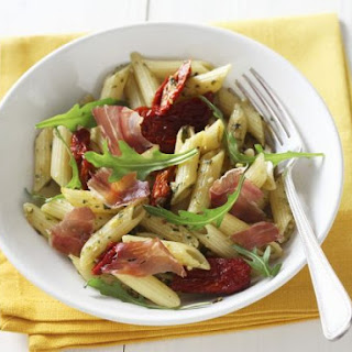 Ham and Arugula Pasta Bowl.