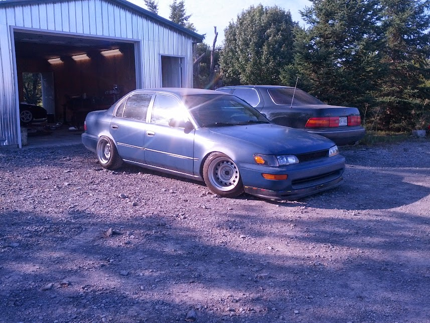 1996 corolla. Just a simple daily driver build! cough cough.. SjSfcWERBmhAJMvwiK8cWV1acCoRHViDZimi8axCbHA=w858-h643-no