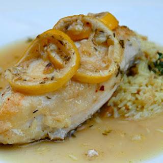 Birthday Lemon Roast Chicken