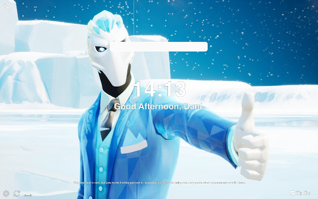 Frost Broker Fortnite Wallpapers New Tab