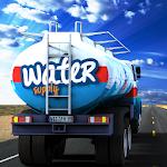 City Farm Water Truck Sim 3D Icon