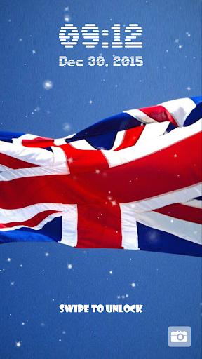 玩免費個人化APP|下載イギリスの国旗 ロック画面 app不用錢|硬是要APP