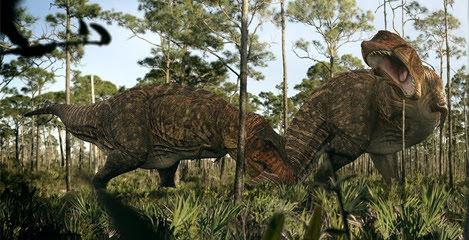 So sánh các loài động vật tiền sử