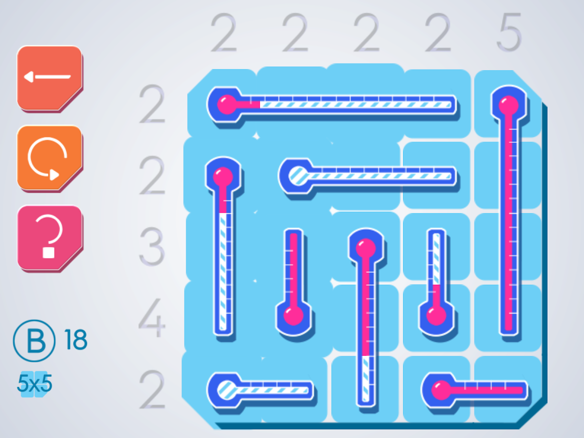 Thermometers Puzzles- screenshot