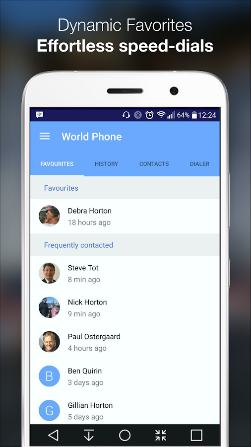 World Phone- screenshot