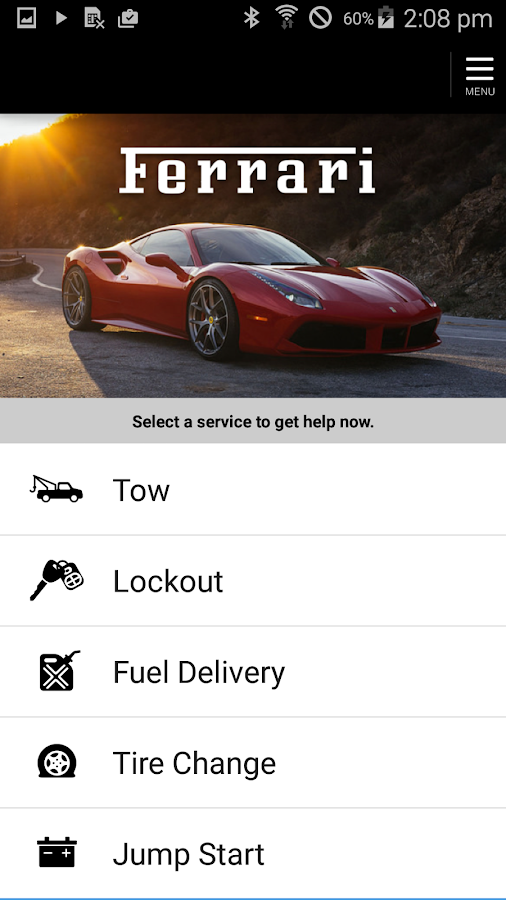 Ferrari Roadside Assistance Android Apps On Google Play