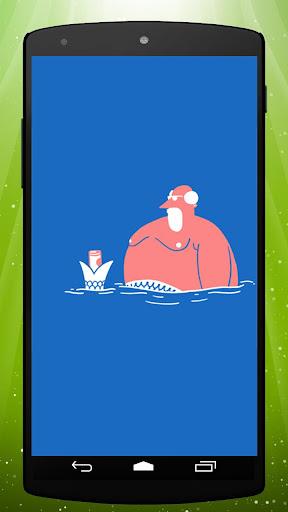 Funny Merman Live Wallpaper