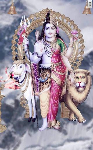 4D Shiv Parvati Live Wallpaper  screenshots 1