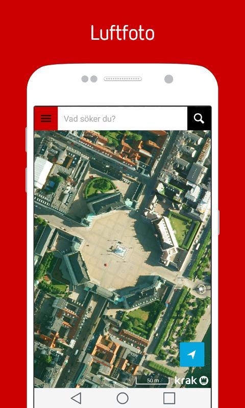 Krak - Søg lokalt - screenshot