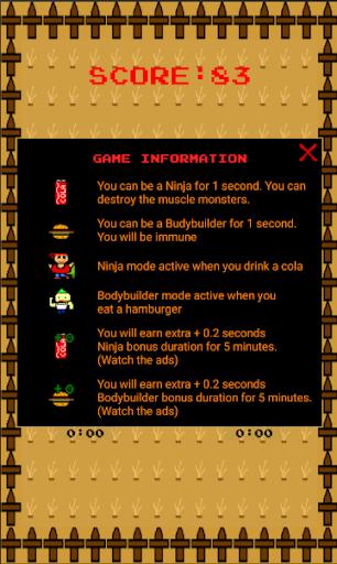 Code Triche Hamburger Man - Focus to impossible APK MOD (Astuce) screenshots 3