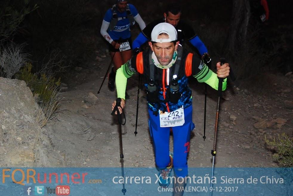 Carrera x montaña Sierra de Chiva - Trail 61k
