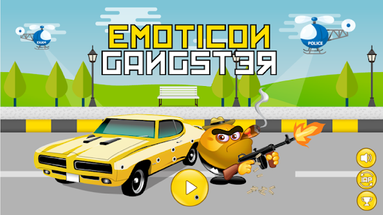 Emoticon Gangster - náhled