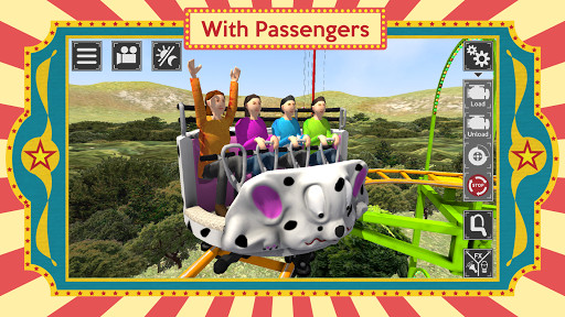 Wild Mouse: Roller Coaster - screenshot