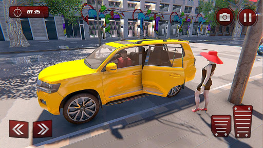 Prado Taxi Car Driving Simulator  screenshots 12